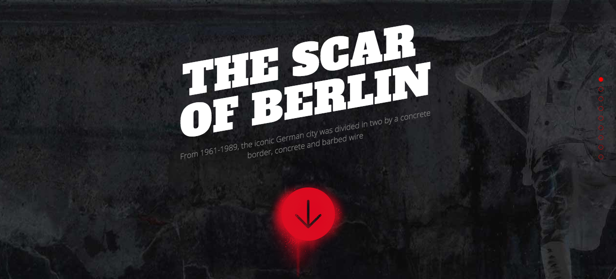 The scar of Berlin