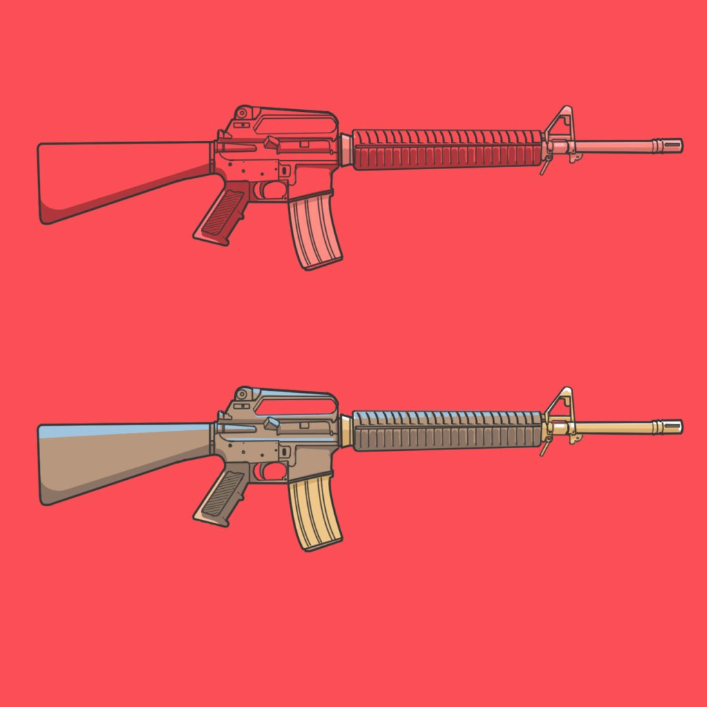 M16 illustration